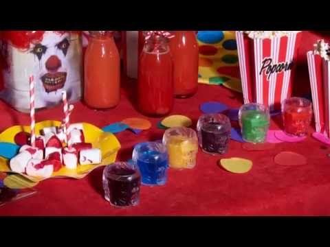 Kleurrijke regenboog Halloween shots - Vegaoo.nl