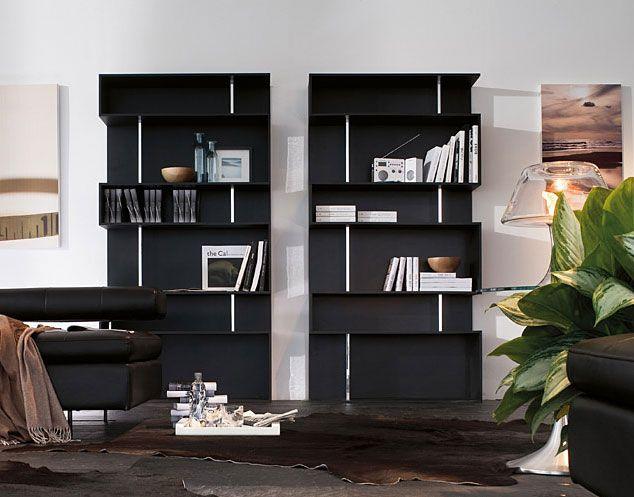 Libreria Moderna Baixa   Material: DM Densidad Media   Libreria en madera lacada los soportes en acabado espejo.Precio por unidad.... Desde Eur:1867 / $2483.11