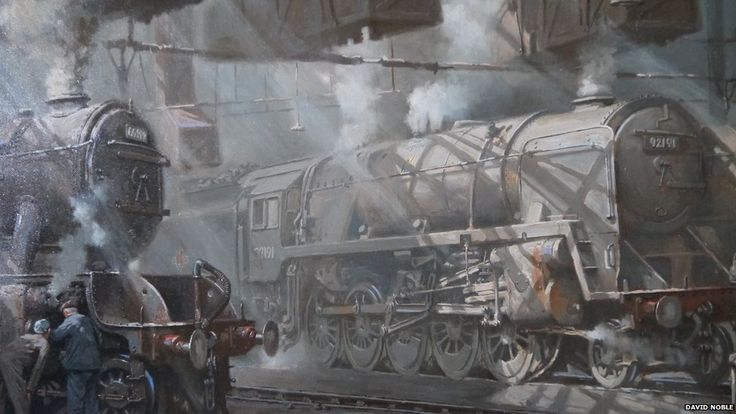 steam art painting - David Noble