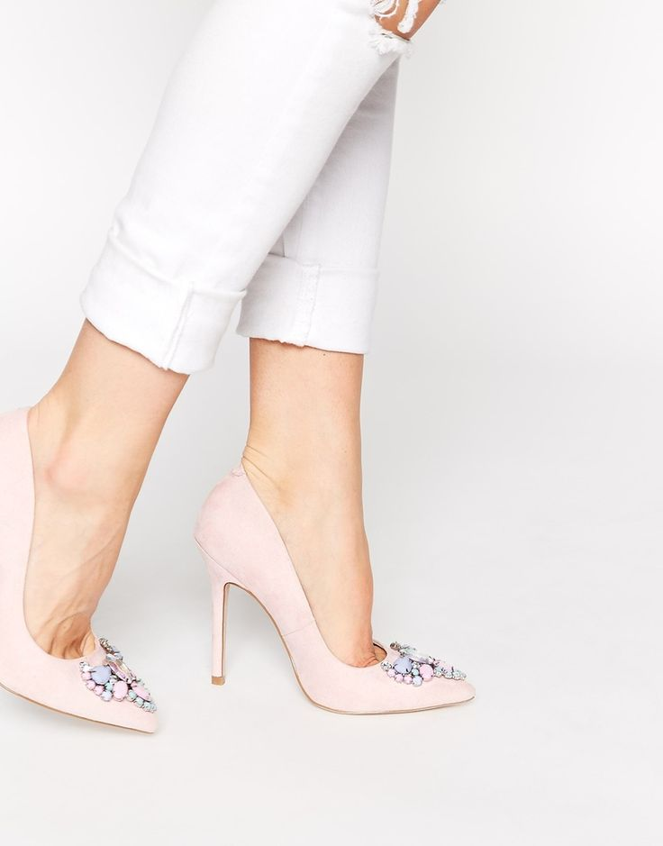 Image 1 ofASOS PITCHER Pointed High Heels