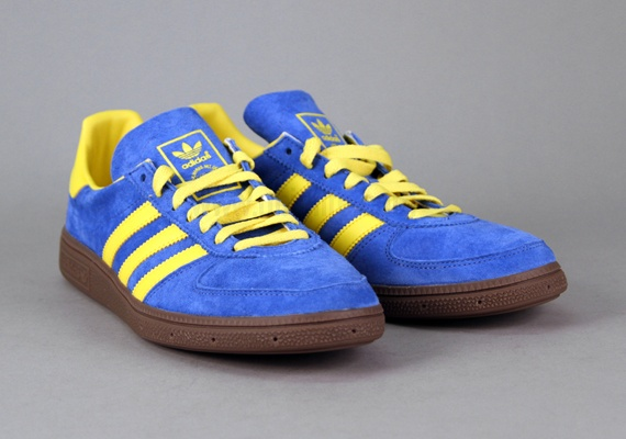 adidas- BC (Satellite Blue/Sun Yellow)... perfect for PhilaUnion games.