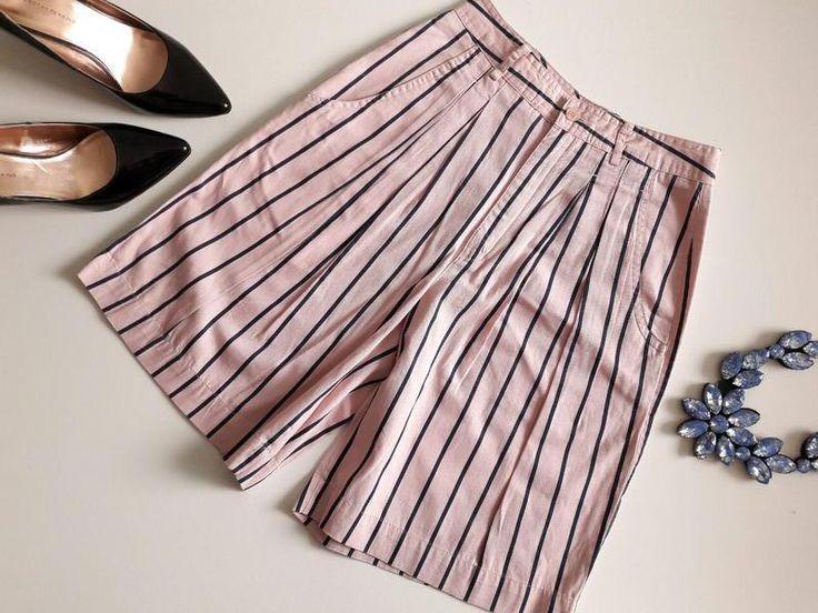 Цена: 120 грн. - Классные шорты-юбка до колен с высокой талией  Цвета: Розовый, Бежевый. Купить в Шафа. Недорогие, но качественные товары по доступной цене!