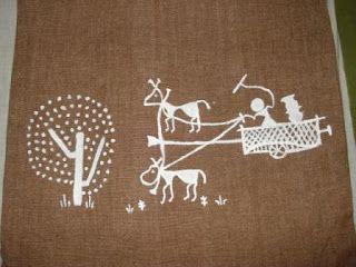 SAJAVAT: More of Warli art on cushions