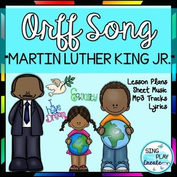 Martin Luther King Jr. Song and Music lesson. Sing, Play, learn about notes, Form and Martin Luther King Jr. using this Catchy Orff arrangement and lesson resource. Mp3 Vocal and Karaoke Tracks. Perfect for MLK celebrations and Black History month. Please download the PREVIEW VIDEO RESOURCE INFO: