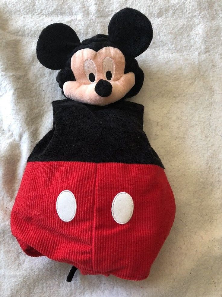 Disney Store Disney Baby Mickey Mouse Costume Size 3-6 Months  | eBay