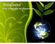 30 best green environment powerpoint templates images on pinterest green earth globe with plant growing recycle reuse recyclable free powerpoint templates ppt themes presentation backgrounds toneelgroepblik Choice Image