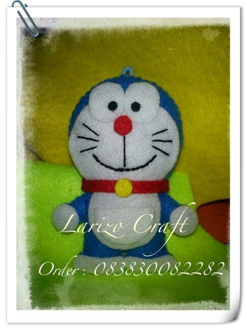 Doraemon #flanel#felt#handmade