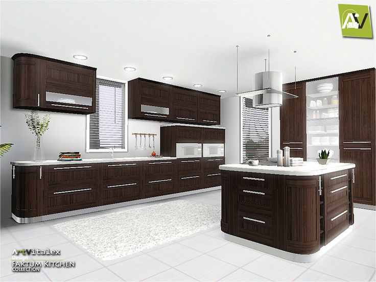 17 best images about sims3 buy sets kitchen on for Modern kitchen sims 3