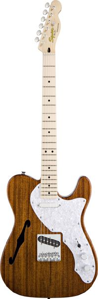 Squier by Fender Classic Vibe Telecaster Thinline (NAT) 【数量限定イケベスペシャル特典付き】【楽天市場】