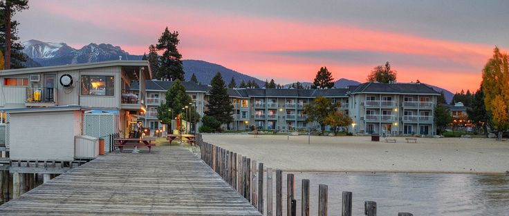South Lake Tahoe Hotels | The Beach Retreat & Lodge | South Lake Tahoe, CA
