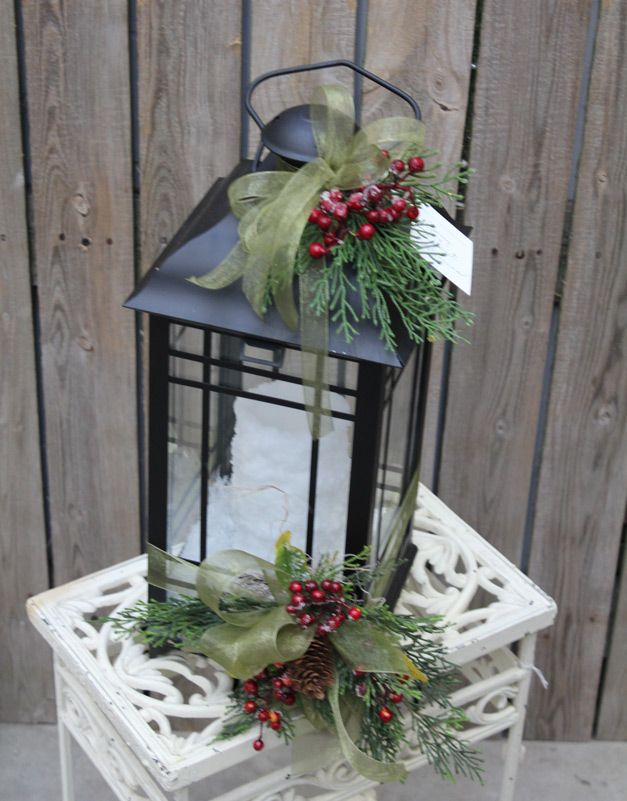17 best ideas about christmas lanterns on pinterest xmas - Faroles para jardin ...