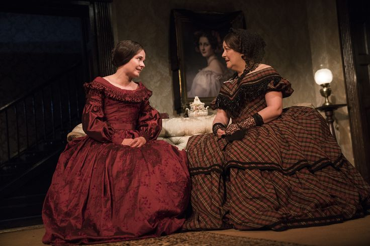 Karen McCartney and Marion O'Dwyer in The Heiress by Ruth and Augustus Goetz, based on the novel Washington Square by Henry James. Picture by Pat Redmond