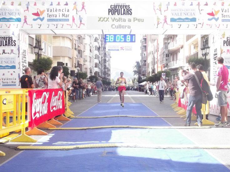Jaouad Oumella venció en la XXX Volta a peu de Cullera