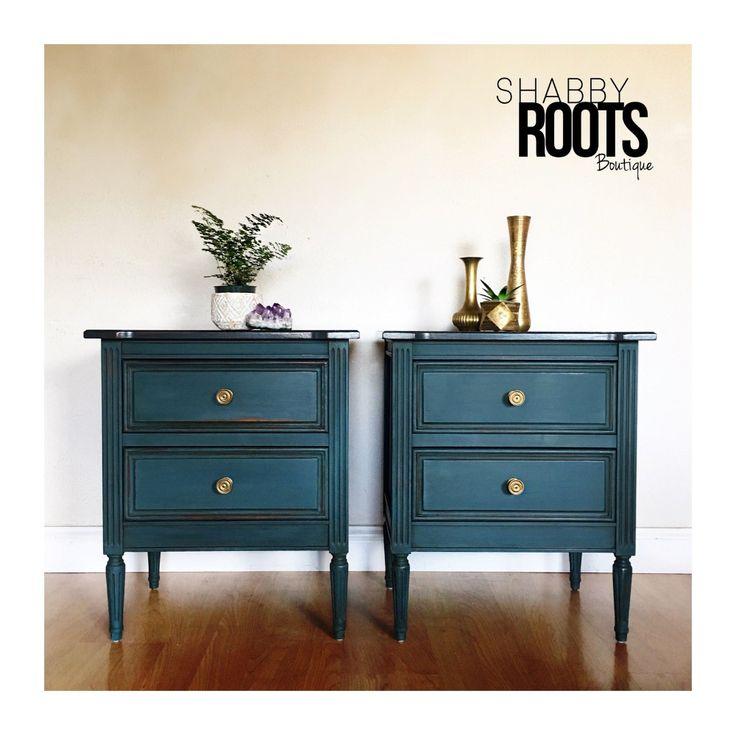 SOLD  Set of Nightstands endtables   Solid wood dressers ...
