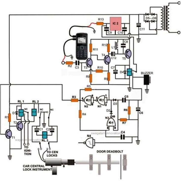 high voltage stun gun circuit diagram
