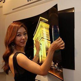 Super-Thin LG OLED TV Sticks to Wall Like Fridge Magnet