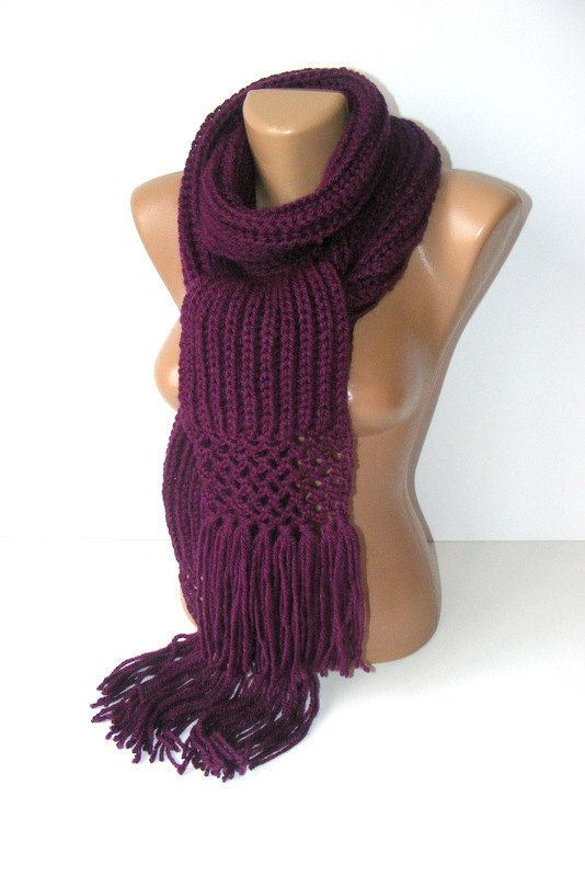 new crochet scarfknitready to shippingwomen men scarf2012 by seno, $25.00: Gifts Ideas