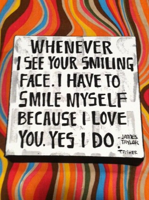 James Taylor - Your Smiling Face - 1977  From JT  ~~own Lyrics