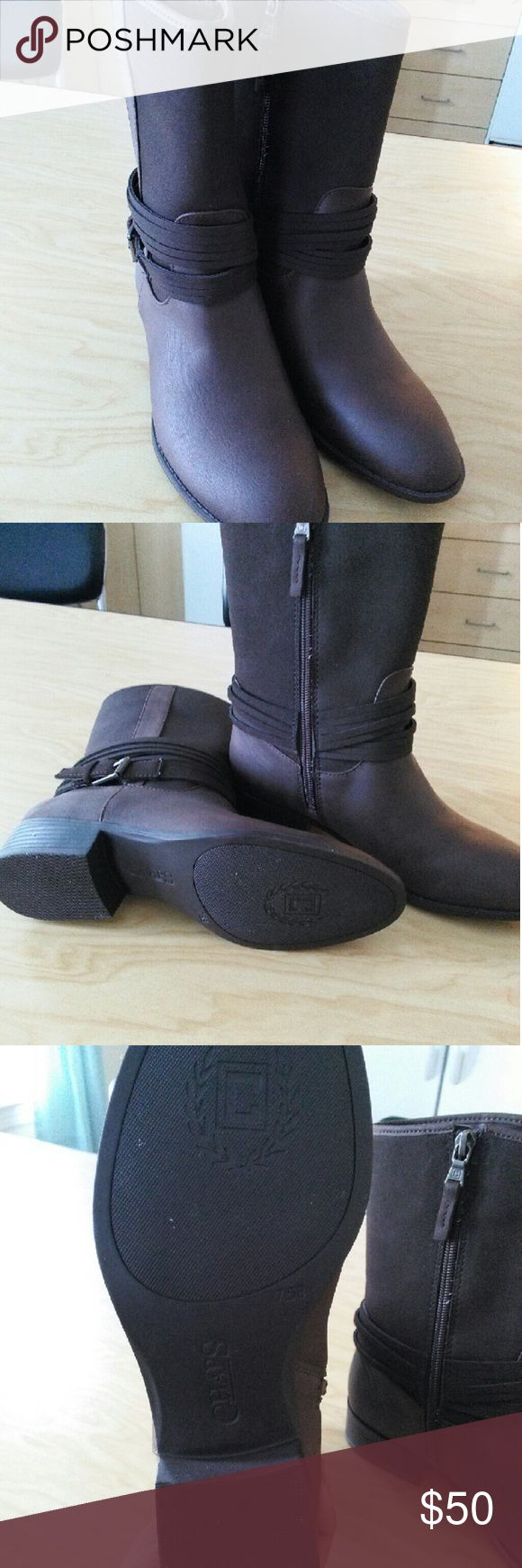Champ Boots Brand new, never worn. Pretty boots. champs Shoes Ankle Boots & Booties