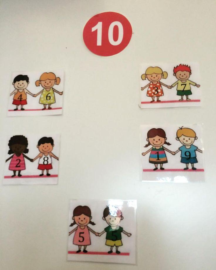 Här är 10 kompisar! #matematik #åk1