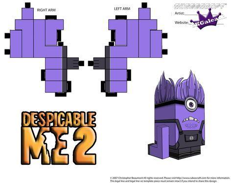Despicable Me Evil Purple Minion Part 2 by SKGaleana.deviantart.com on @deviantART