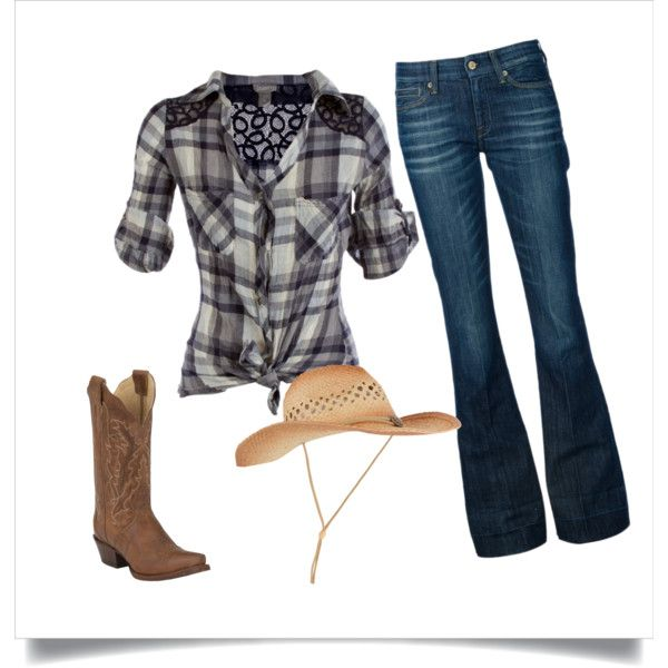 """""""Country Girl Look"""" by me on Polyvore"""