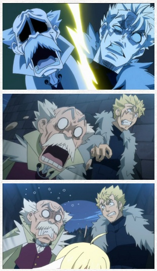 They are definitely grandfather and grandson... and I love Laxus he same!!