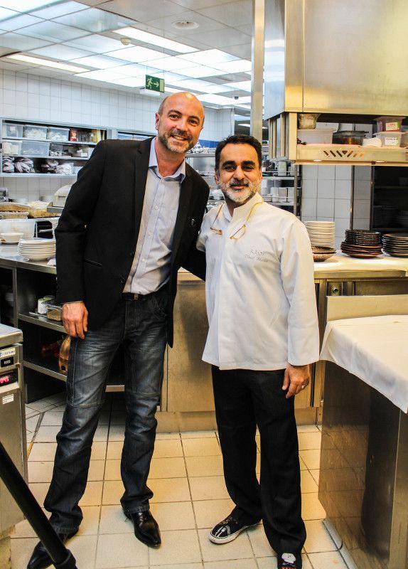 Chef Vineet Bhatia and me