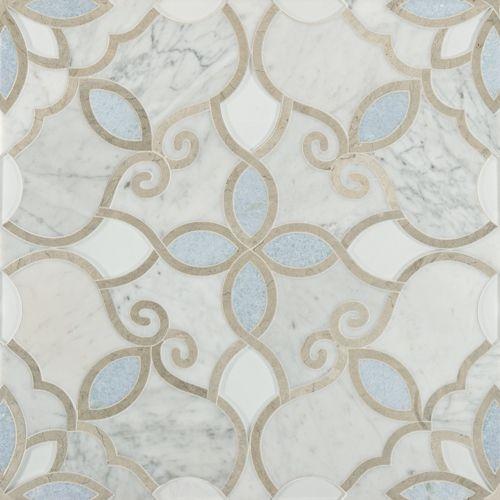 Artistic tile Granada Bianco - http://artistictile.com/itemdetails.aspx?Pid=1064&Cid=25&Mname=Granada%20Bianco