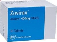 immunocompromised patients. Zovirax 200mg tablets are also used to prevent infection with other viruses in the herpes group of viruses in people who are immunocompromised, such as Cytomegalovirus (CMV) infection following immunosuppression for a bone marrow transplant. In people with advanced HIV infection and very low white cell counts (CD4 < 50/microL) Zovirax 200mg tablets can be used, in conjunction with another antiviral drug to help with the management of severe AIDS.