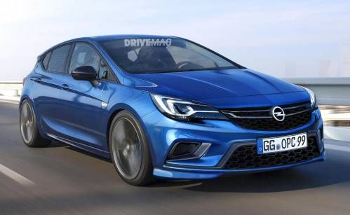 All-New 2017 Opel Astra OPC Will Most Likely Look Like This