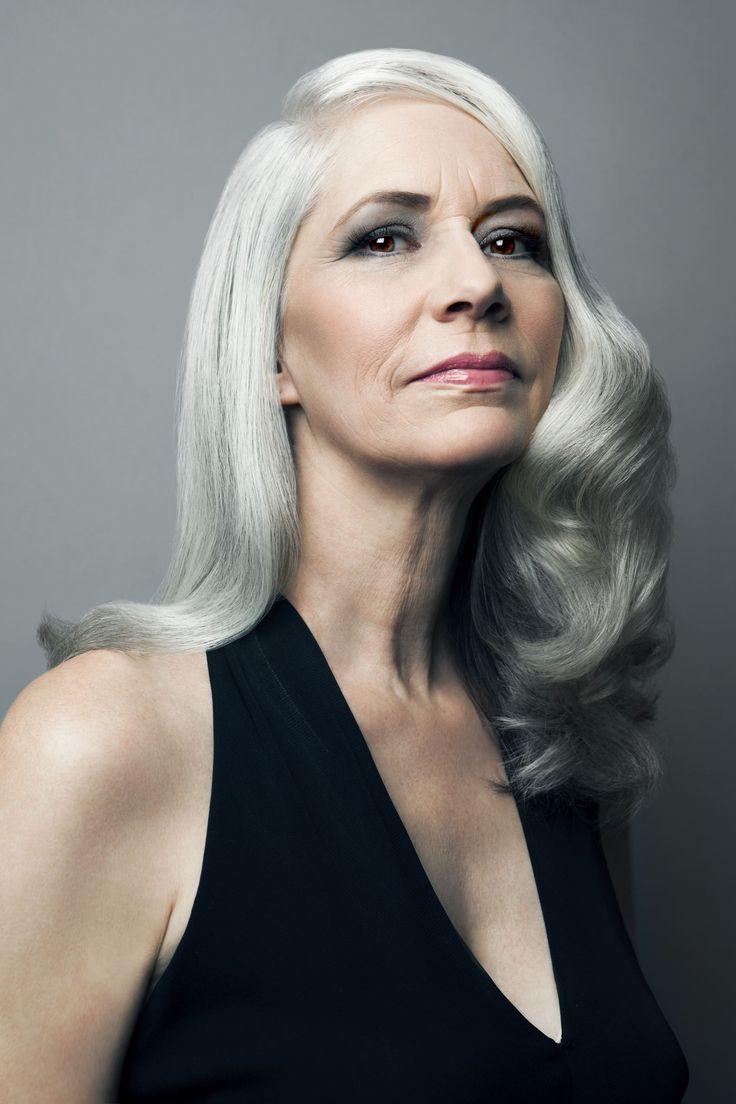 169 best hair for mature women / going grey images on pinterest