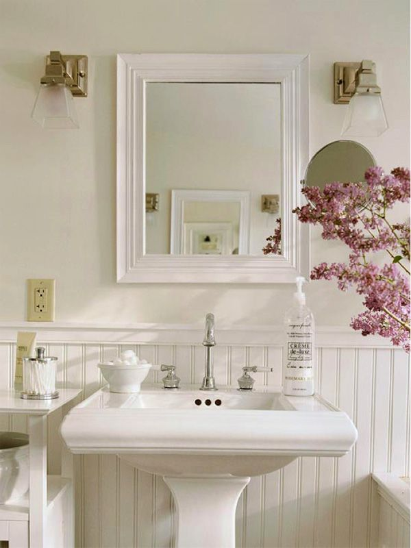 Chic Bathroom Decor 43 best shabby chic- bathroom images on pinterest | shabby chic