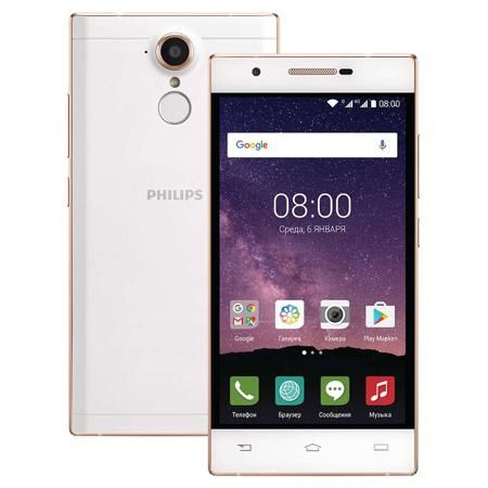 Смартфон Philips X586 Champagne-White  — 11990 руб. —  Смартфон Philips X586 сочетает в себе стильный дизайн и функциональную, технологичную начинку. Технология SoftBlue снижает нагрузку на глаза и обеспечивает яркое и качественное изображение, мощный процессор и Android 6.0 справятся с любой поставленной задачей, 2 сим-карты и поддержка 4G позволят всегда быть на связи и экономить на тарифах, а ёмкий аккумулятор обеспечит беспрерывную активную работу в течение всего дня.
