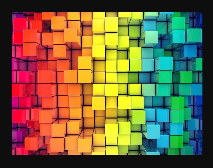 Ezt a képet próbáltam lekoppintani C4D-ben: http://hqwide.com/3d-colorful-backgrounds-wallpaper-76724/