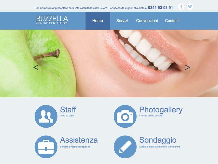 Restyling Applicazione web Buzzella Centro Dentale.