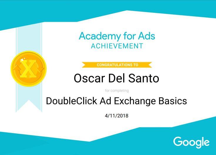 Google DoubleClick Ad Exchage Basics, 11/04/2018