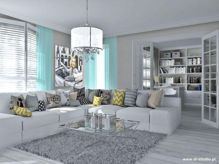Narożnik na salonach! - Myhome #corner #living #room #cozy