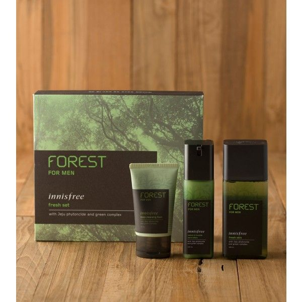 [INNISFREE] FOREST FOR MEN FRESH SET - For Men - MIK