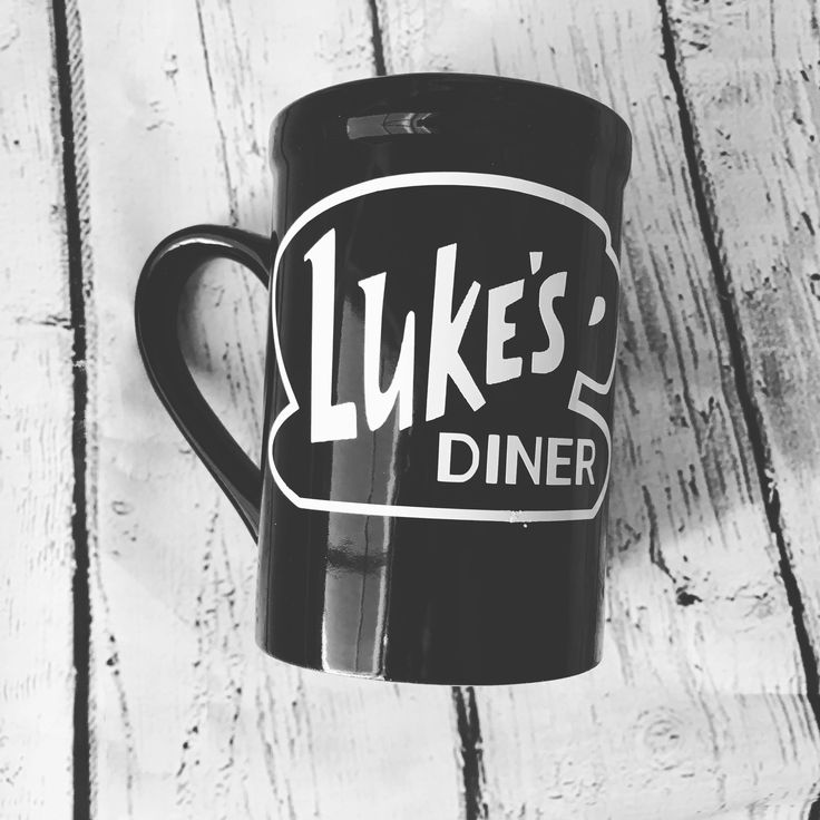 FREE SHIPPING Luke's Diner Mugs Hefty, nice thick diner mugs. These mugs are tall and hold a 16 ounces easily. These large mugs measure 5 inches high and are available in Black or White. These diner m
