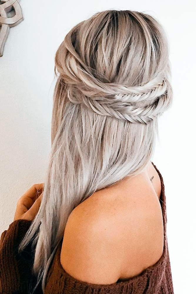 Long Hairstyles 9 5 minute hairstyles for long hair 18 Easy Long Hairstyles For Valentines Day