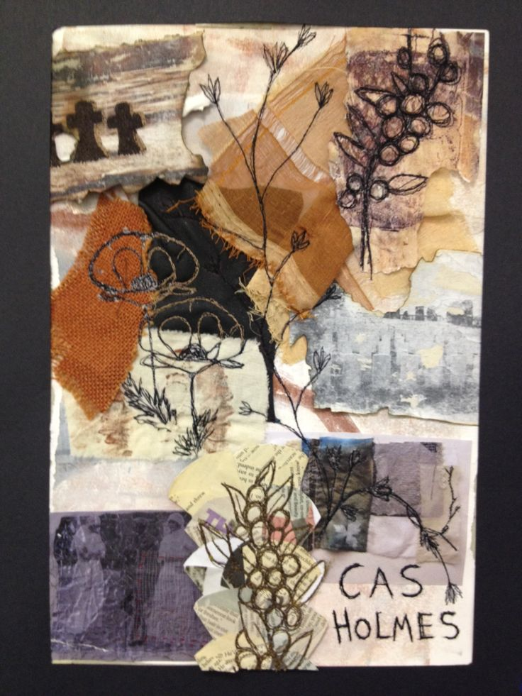 A2 level artist research-Cas Holmes