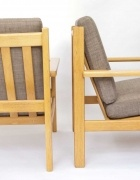 Hans J Wegner ge220 armchairs.