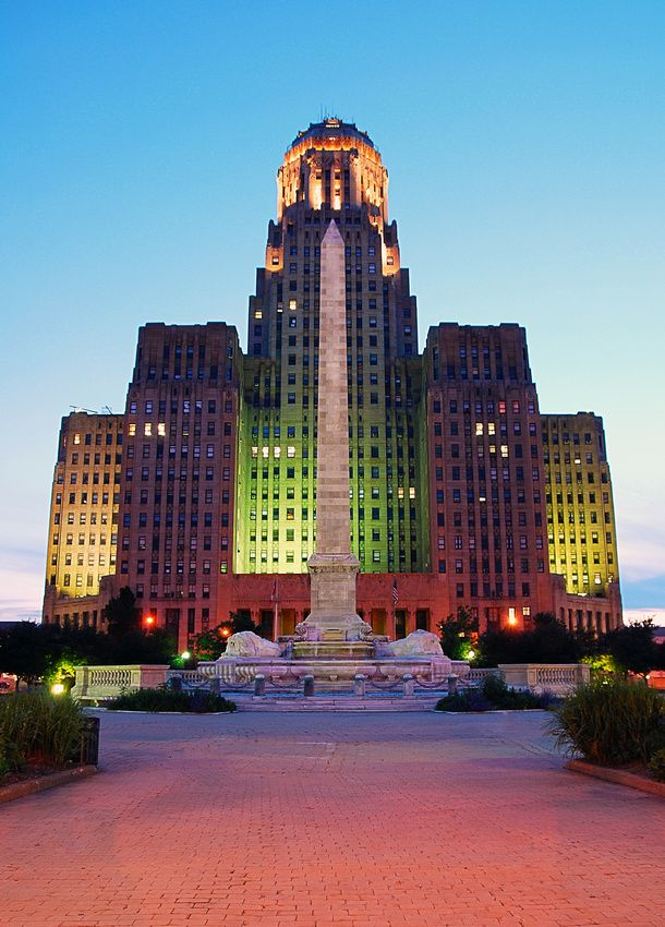 an evaluation of the buffalo city hall building Anderson doesn't appear to accept defeat gracefully given he still hasn't issued the building permit to the  his use of city hall as  new-buffalo.