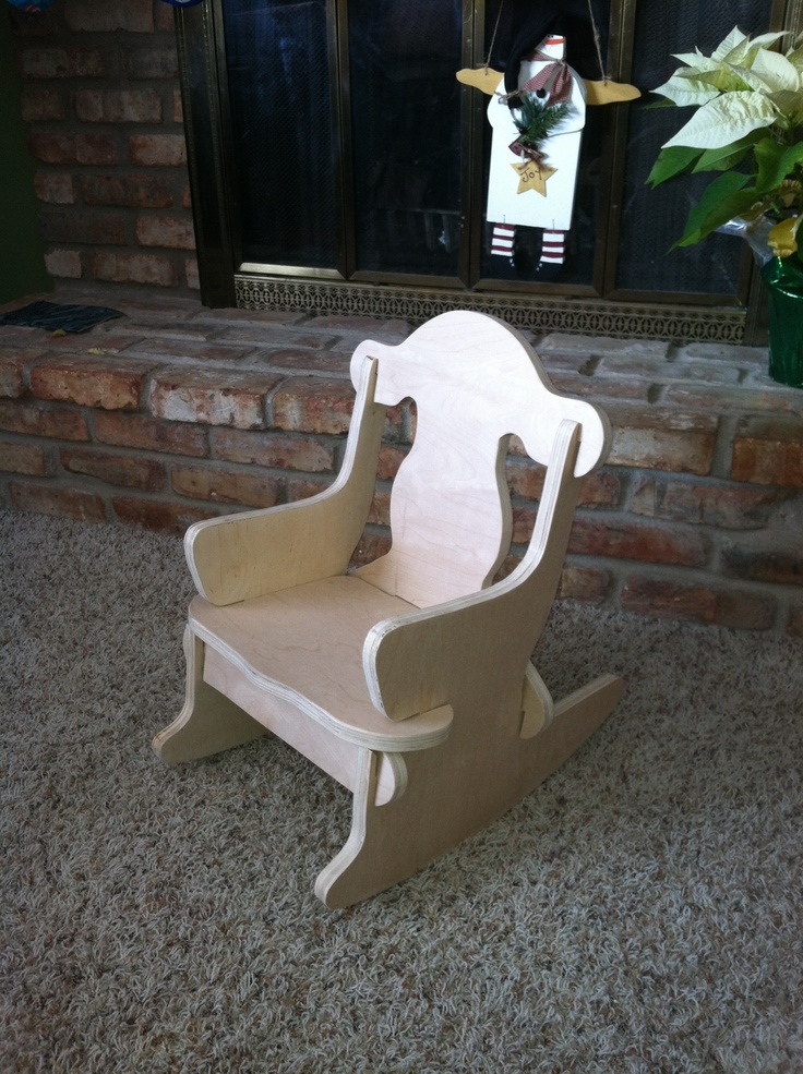 Childs Puzzle Chair No nails are needed  Wood projects