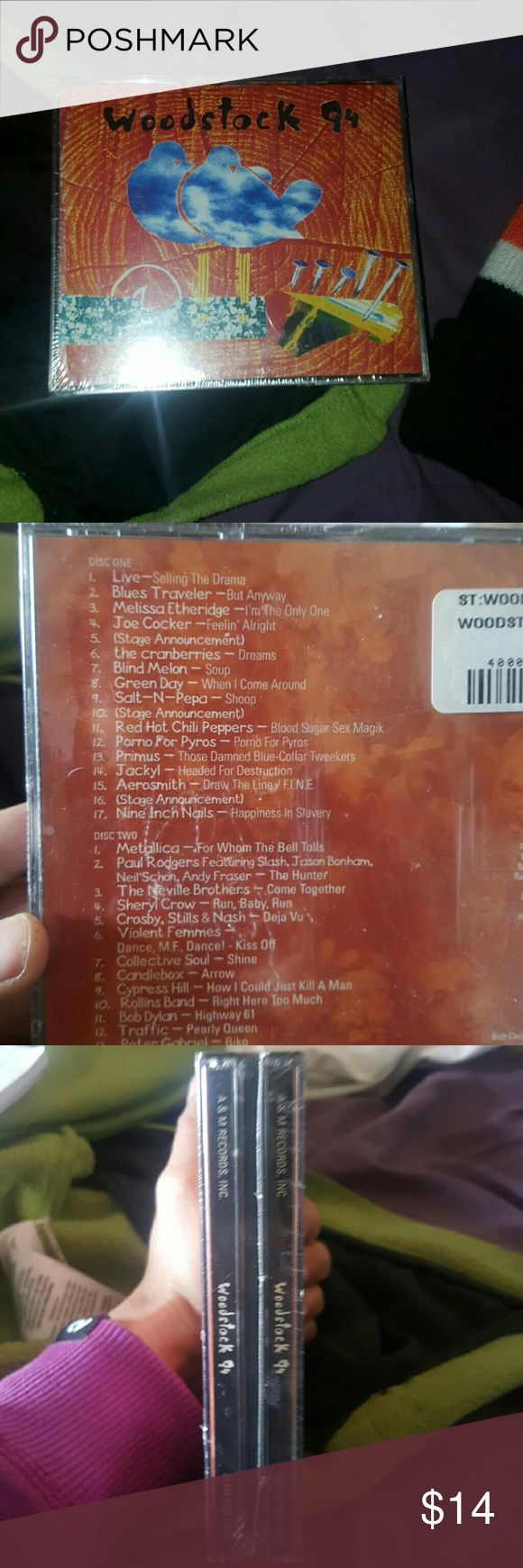 NEW/Sealed- Woodstock 99 New - WOODSTOCK 99- DOUBLE Disk. Still wrapped. See photos for song list. Other