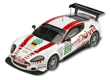 Aston Martin DBR9 deco 2010 Digital by SCX Slot Cars. $64.48. The Digital System car is equipped with a microchip which is able to receive instructions from the driver such as change lanes by pressing the button on the back of the controller, or activate the braking system by releasing the accelerator trigger of the controller. This car features headlamps, removable and adjustable magnet, guide with suspension, A.R.S guide, tilting chassis, and brakes.