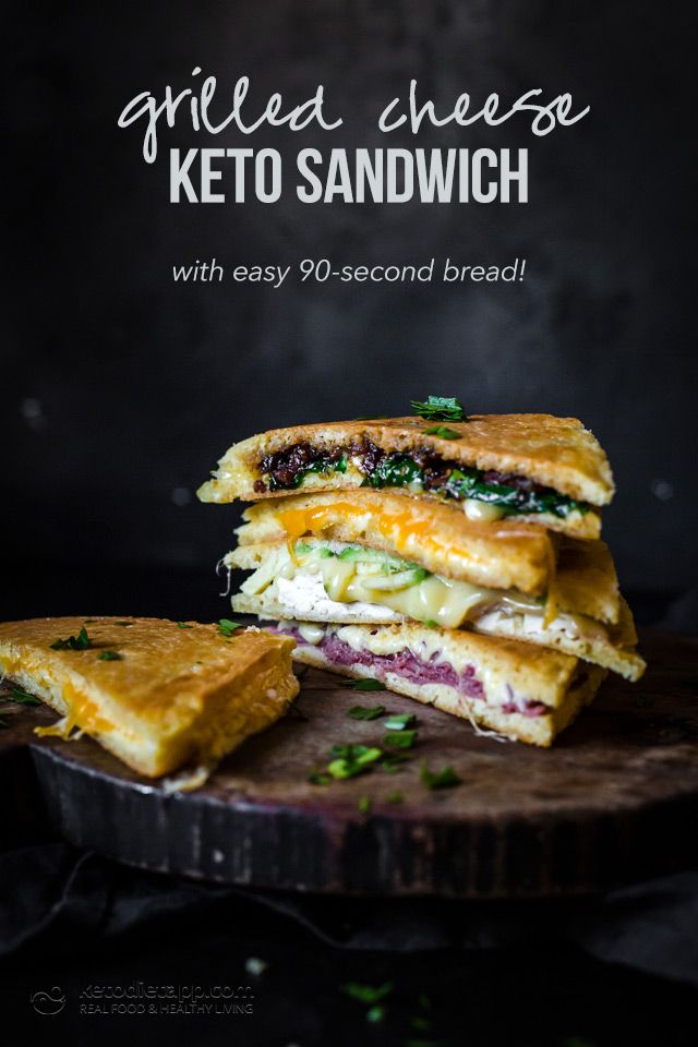 Low Carb Quick Grilled Cheese Sandwich Recipe Low Carb
