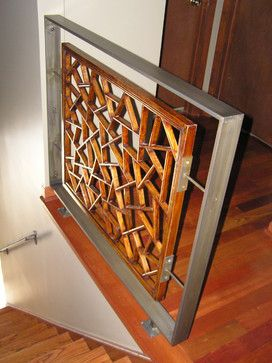 Metal Stair Railing Design