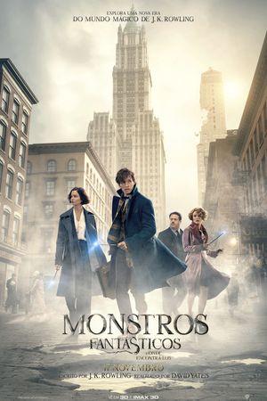 Monstros Fantásticos e Onde Encontrá-los - Cinemas NOS